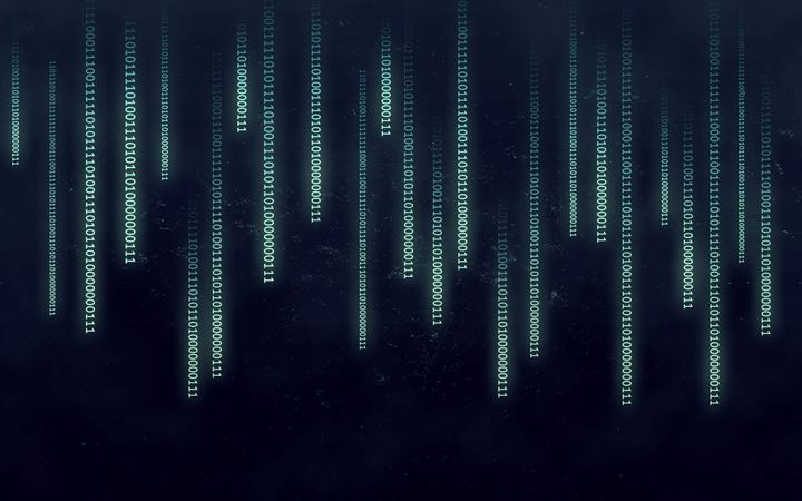 Binary data stream All Mac wallpaper