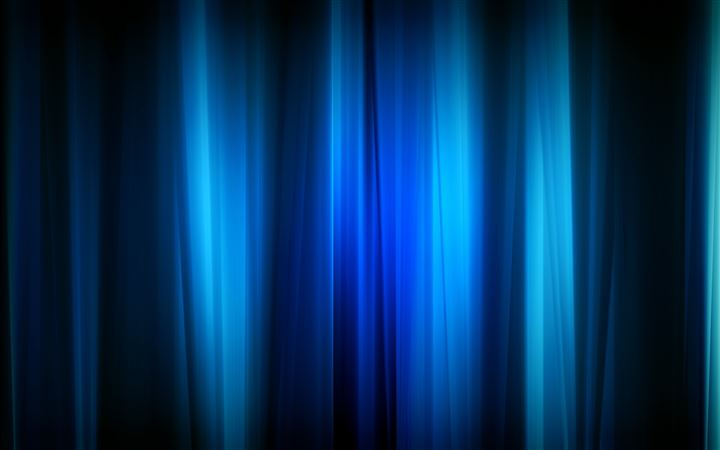 Blue Curtain All Mac wallpaper