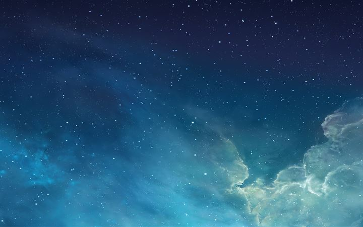 Blue night sky All Mac wallpaper