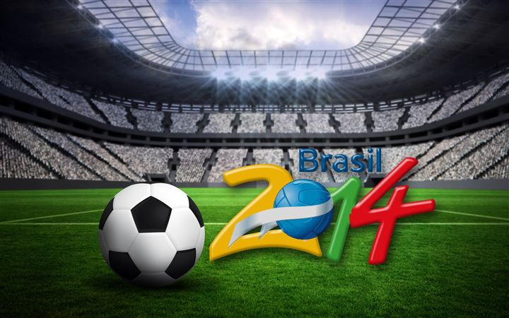 Brasil World Cup 2014 MacBook Air wallpaper