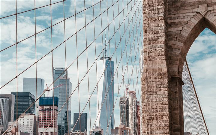 Brooklyn Bridge, New York... All Mac wallpaper