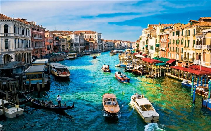 Canal grande venice All Mac wallpaper