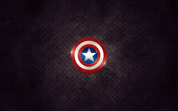 Captain America Logo All Mac wallpaper