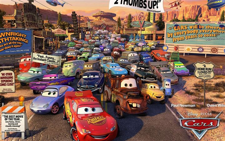 Cars Movie Review MacBook Air wallpaper