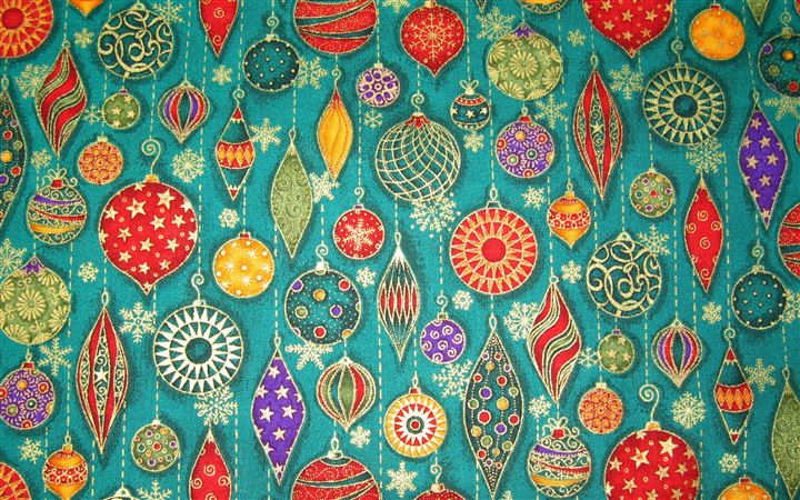 Christmas Decorations Pattern All Mac wallpaper