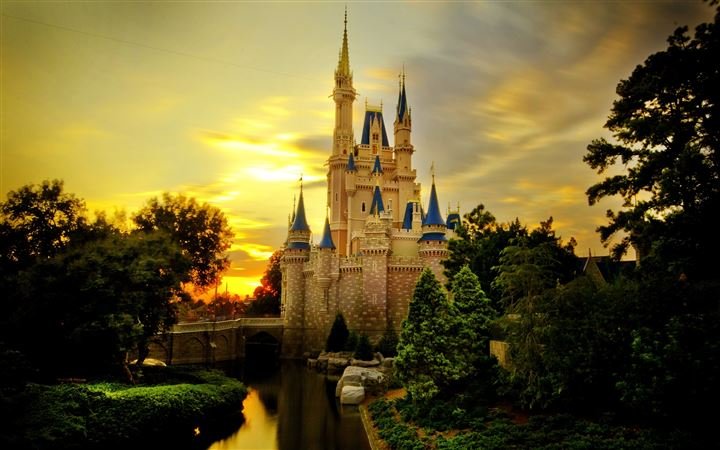 Cinderella Castle MacBook Air wallpaper