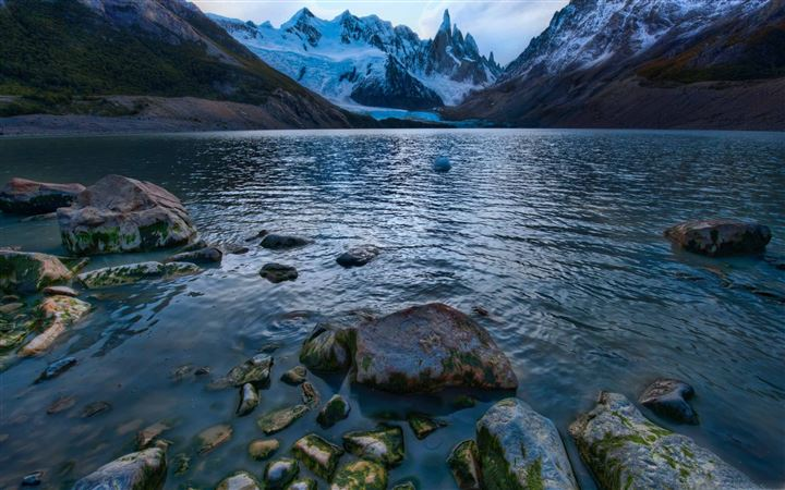 Cold Mountain Lake In Argentina All Mac wallpaper