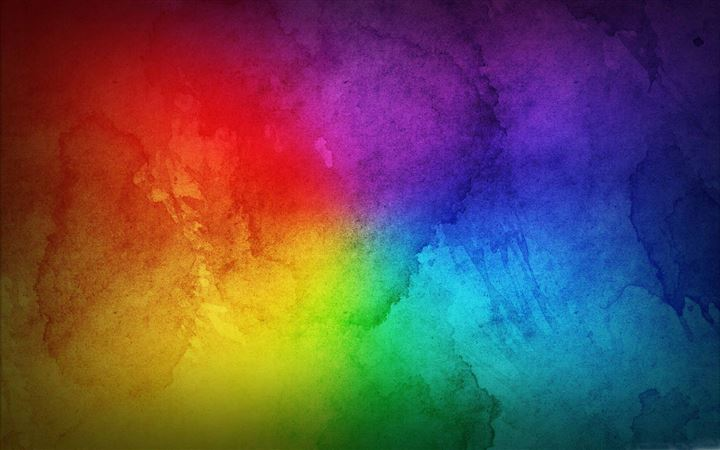 Colorful Rainbow All Mac wallpaper