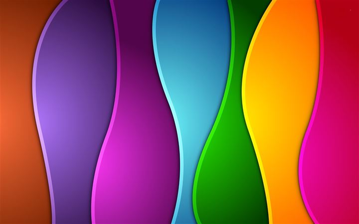 Colorful Vertical Waves All Mac wallpaper