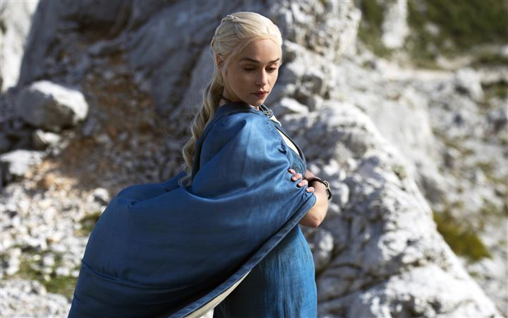 Daenerys Targaryen In Game Of Thrones All Mac wallpaper