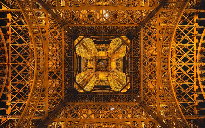 Eiffel Abstraction All Mac wallpaper
