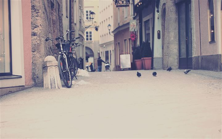 European Street In Color All Mac wallpaper