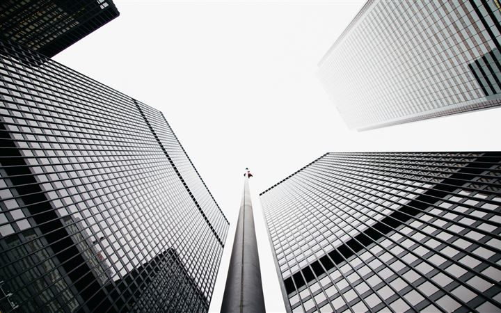 Financial District. All Mac wallpaper