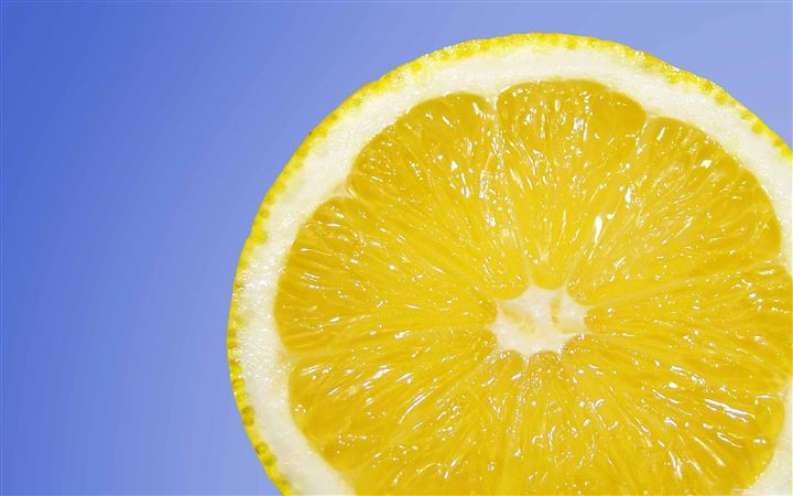 Fresh Lemon All Mac wallpaper