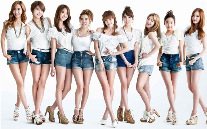 Girls Generation 16 All Mac wallpaper