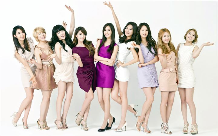 Girls Generation 5 All Mac wallpaper