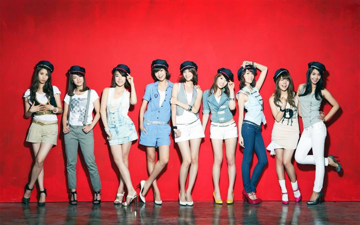 Girls Generation 7 All Mac wallpaper