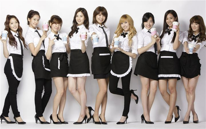 Girls Generation MacBook Air wallpaper