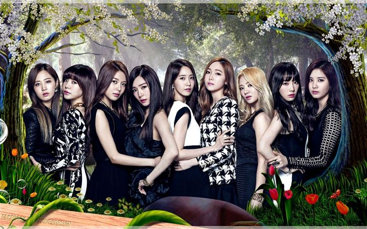 Girls Generation All Mac wallpaper