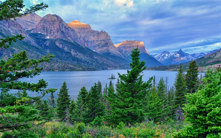 Glacier National Park All Mac wallpaper