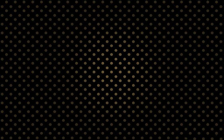 Golden flowers pattern All Mac wallpaper