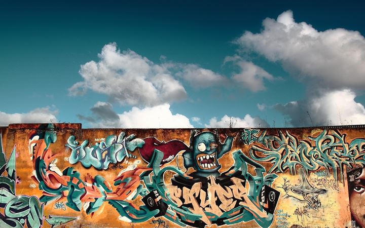 Graffiti Wall Art All Mac wallpaper
