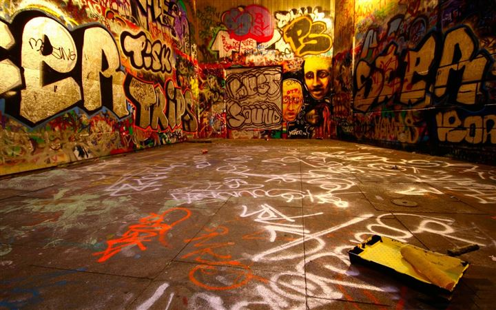 Graffiti room All Mac wallpaper