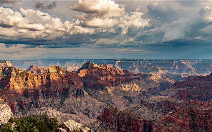 Grand Canyon North Rim All Mac wallpaper