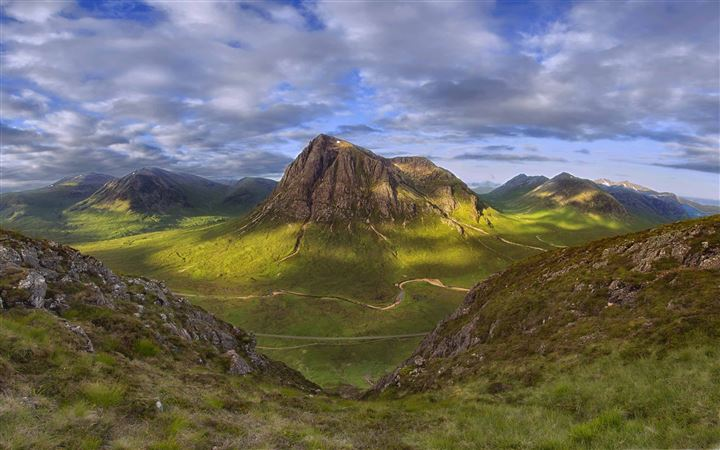 Highlands Of Scotland All Mac wallpaper