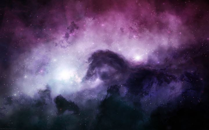 Illuminating The Dark Universe MacBook Air wallpaper
