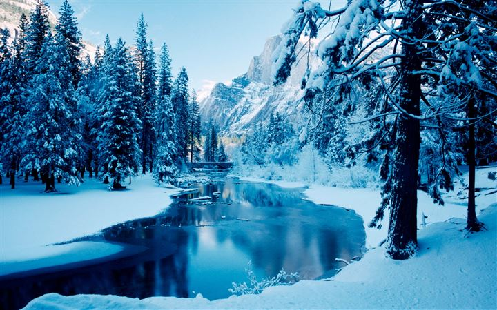 In winter All Mac wallpaper