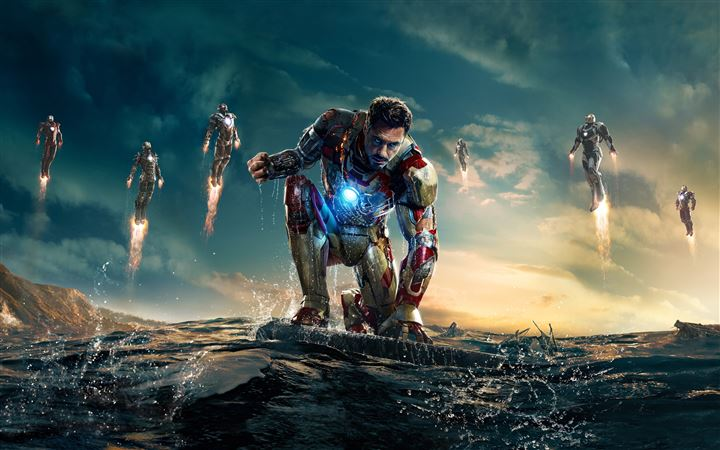 Iron Man 3 New All Mac wallpaper