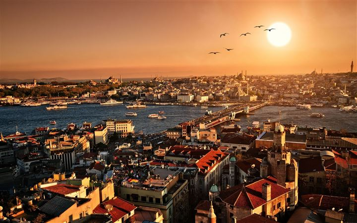 Istanbul City All Mac wallpaper