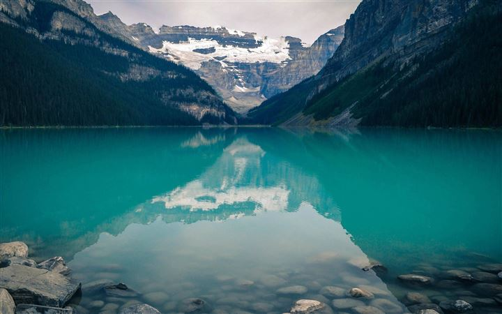 Lake Louise Canada MacBook Air wallpaper