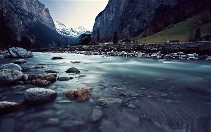 Lauterbrunnen Switzerland MacBook Air wallpaper