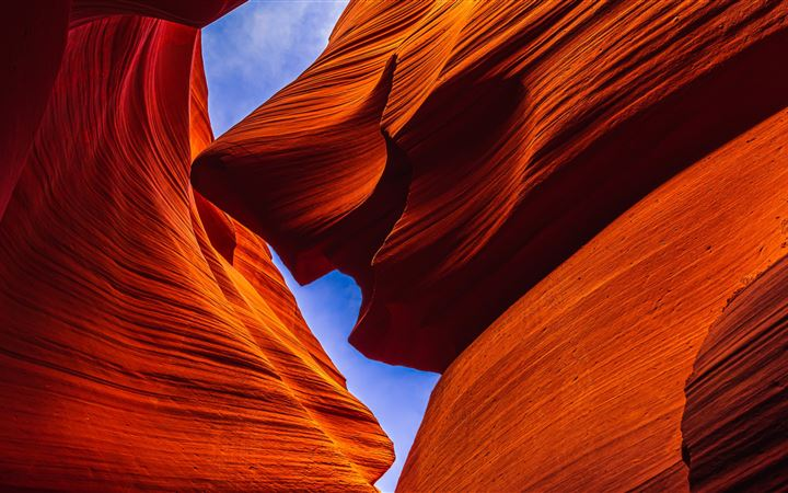 Lower Antelope Canyon, Pa... All Mac wallpaper