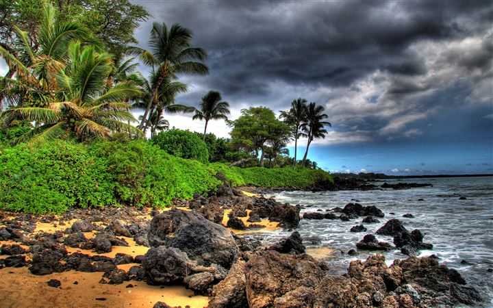 Maui Island All Mac wallpaper