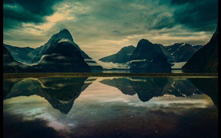 Milford sound morning All Mac wallpaper