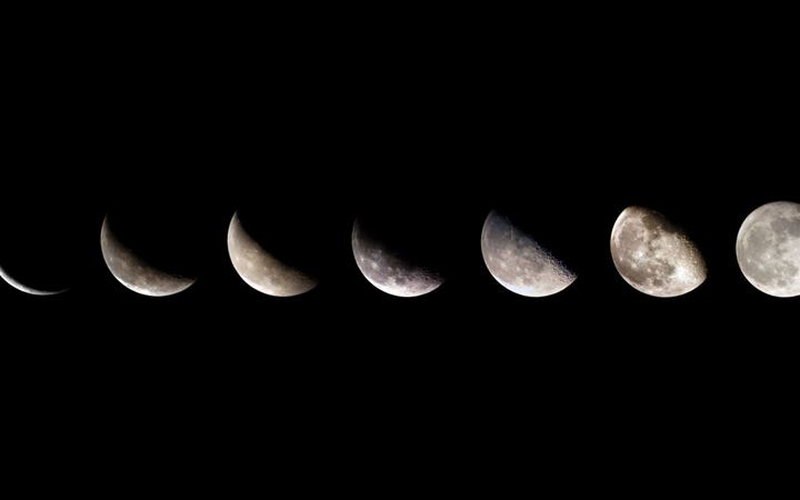 Moon Sequence All Mac wallpaper
