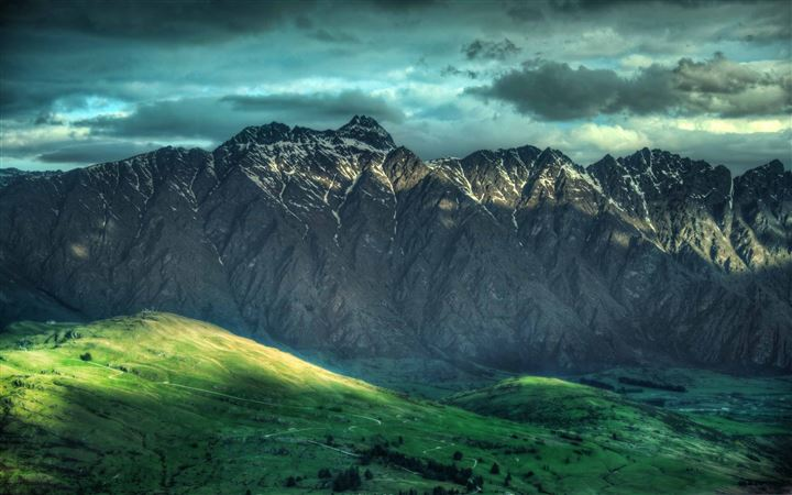 Mountains New Zealand All Mac wallpaper
