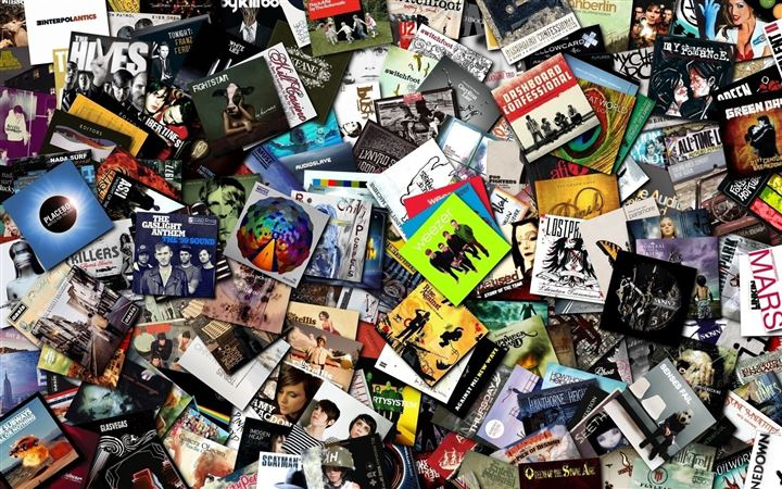 Music Cds Collection All Mac wallpaper