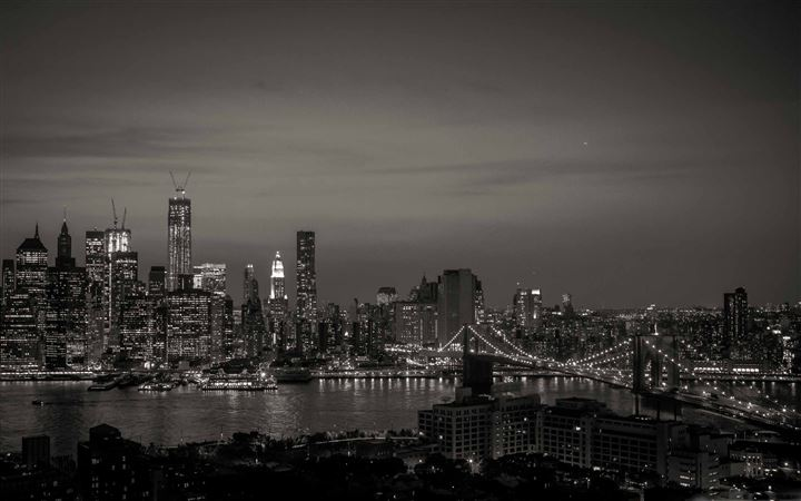 New York City Black And White All Mac wallpaper