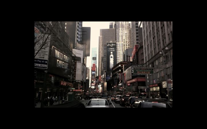 New York City Street All Mac wallpaper