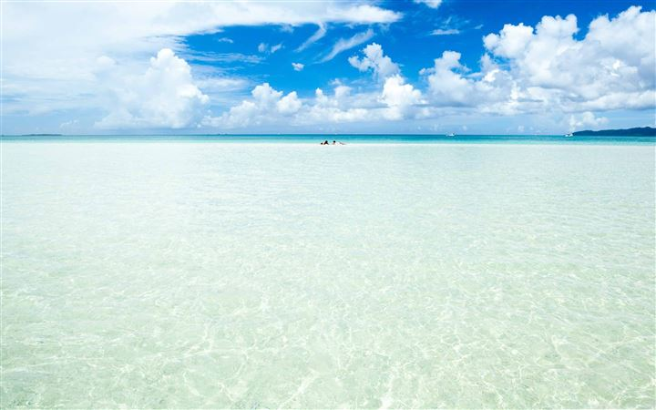 Okinawa Island Crystal Clear Water All Mac wallpaper