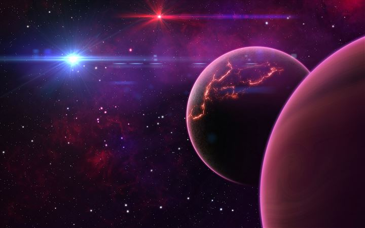 Outer space All Mac wallpaper