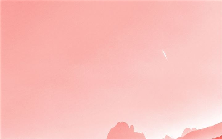 Pantone Coral All Mac wallpaper
