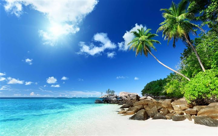 Paradise Beach All Mac wallpaper