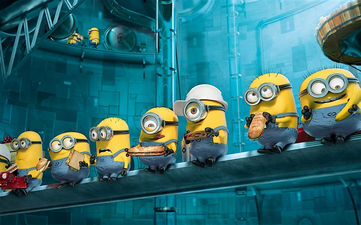 Paradise Minions Despicable Me All Mac wallpaper