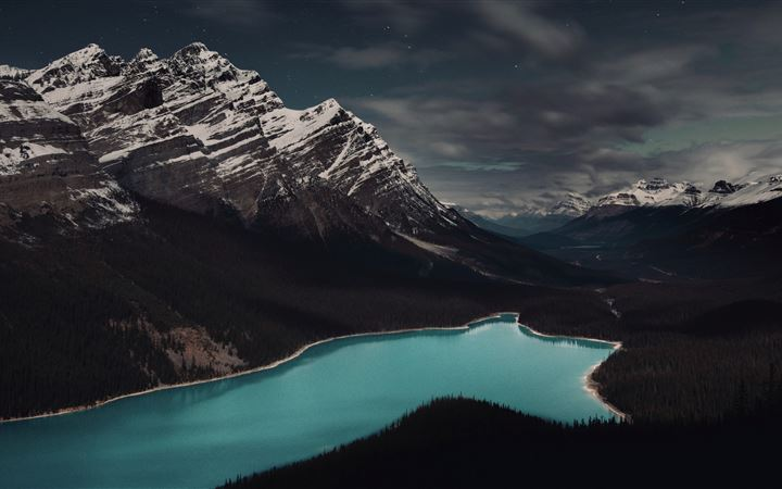 Peyto Lake, Banff, Canada All Mac wallpaper