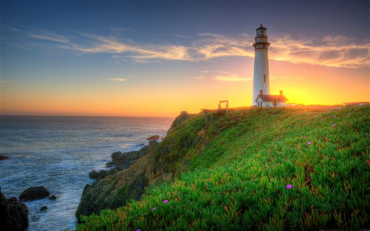 Pigeon Point Lighthouse All Mac wallpaper